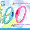 65*45mm negative ion new silicone insect repellent bracelet 2015 mosquito repellent natural rubber latex wristband
