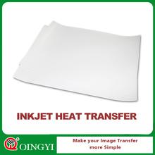 Inkjet transfer paper for dark and white fabric