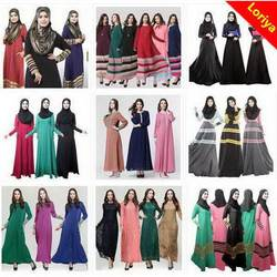 Low price best selling islamic clothing for women hijab abaya in dubai is