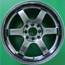 Volk TE37 alloy wheels for car