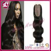 indian human 16inch silk base hair lace frontal closure piece 100% human hair lace closures