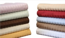 hot sale hotel 200TC 300TC 400TC 600TC 100% cotton bed sheet bedding set branded