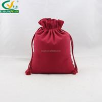 handmade pull string canvas waist bag blank