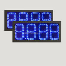 date and time led display/ gas price signs digital/ gas stations with car wash
