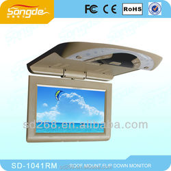 hot sale 10.1 Inch Car Portable DVD Player /bus tv monitor