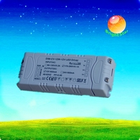 CE RoHS SAA approved LED trafo 12V 30W dimmable LED transformer