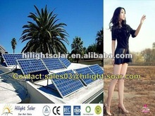 solar panel 240W mono with TUV,IEC,CE,ISO Approved