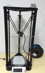 LCD display diy 3d printer kit, High Precision Kossel delta 3d printer 3E006