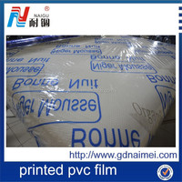 Naigu PVC plastic sheet film roll for furniture protected
