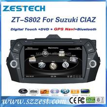 ZESTECH OEM Car Dvd player for Suzuki CIAZ/ALIVIO/Keietsu Car Dvd player with GPS Navigation system,buletooth,RDS,3G,wifi