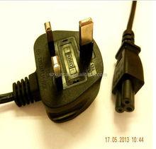 uk plug pvc insulation 3 core power cable