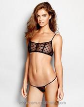Wholesale sexy women black bikinis