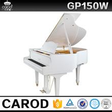 Carod white children wooden piano flexible keyboard piano price for sale