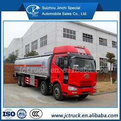 Oil tanker truck/Fual tanker FAW fuel tank for truck