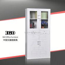 IGO-008-1 Hot Sale Lockable Cheap File Cabinet/Glass File Cabinet