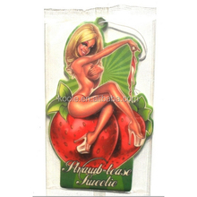 Novelty sexy car air freshener