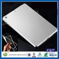 C&T Flexible plain tpu case for ipad pro transparent soft case