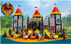 popular and newest preschool large children outdoor playground free standing slide