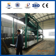 Quality Warranty Dressing Equipment Mobile Gold Wash Plant with Gold Separating Sieve