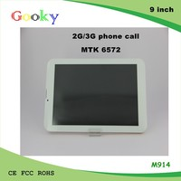 9 inch Quad core Android 4.4 dual SIM card cheap tablet 3G tablet pc wifi with 16GB Rom