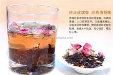 Rose flower black tea