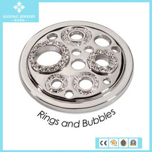 Hot Promotional Zircon Stainless Steel Coins for Sale Antique