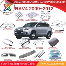 2009-2012 TOYOTA RAV4 ACCESSORIES 09 10 11 12 ABS CHROME STAINLESS STEEL CAR AUTO ACCESSORIES