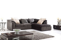 Popular L-shaped Living Room Furniture Couch Sofa L262