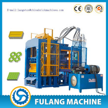 automatic cement block moulding machine QT10-15 house plans cost of fly ash bricks cement factories in egypt