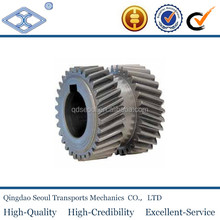 JIS standard heavy duty M3 T20 material C45 alloy steel oem double machining pinion helical gear