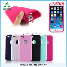 LED Light Calling Soft TPU Case For iPhone 6, for iPhone 6 TPU Case, Soft Case for iPhone 6
