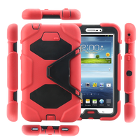"High qualityshock proof kids 7"" tablet case for samsung tab3 p3200"