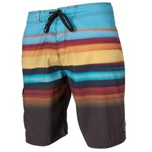 Sublimated hot sale flower pattern polyester beach shorts,mens cut and sew board shorts surf shorts beach shorts