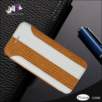 Genuine Leather Cell Phone Flip Case Cover Maker