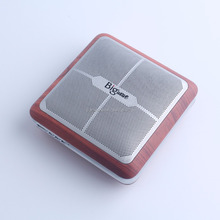 CSR4.0 bluetooth V4.0,wooden & Zinc Alloy,super bass bluetooth speaker (SP-Q8)