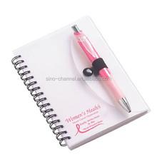 New Product Custom Spiral Notebook Pen