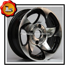 """18"""" Durable Racing ZE40 car chorme wheel 2PC rim , option parts available ET 25 BC 67.1"""