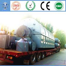 recycled rubber granule 10T PP/PE/PS Scrap Plastic Pyrolysis To Oil Getting 50%-75% Oil