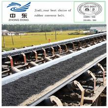 bs standard conveyor belt for aggregate chemical resistant rubber belt