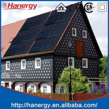 Hanergy solar panel system 3000w for home on pitched roof