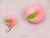PU stress ball peach shape