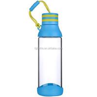 BPA Free Highest Heat Resistant Borosilicate Glass Sport Bottle / Water Bottle/Drink Bottle