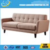 2015 New design simple wooden sofa set design rexine simple fabric sofa on saleS018