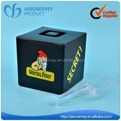 Creative design plastic food packing box