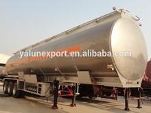 HOT SALE 45000L aluminum alloy oil/fuel tank trailer 3 axles