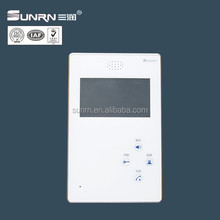 New design apartment video door phone 8 wires house intercom