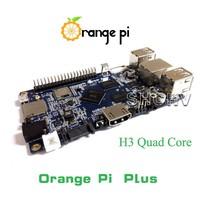 Orange Pi plus H3 Quad Core 1.6GHZ 1GB RAM 4K Open-source development board banana pi pro raspberry pi 2 cubieboard pcduino