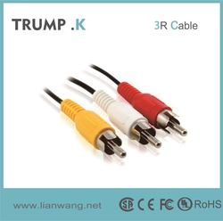 Factory Producing 30-pin to usb rca audio video cable