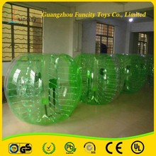China Supplies Competitive Price football zorb/ soccer bubble/bumper ball