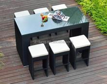 fashion rattan wicker bar set furniture ZT-2004CT
